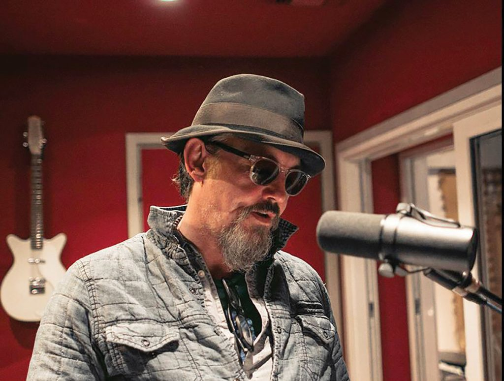 Tommy Flanagan in studio; photo by Ran Pink