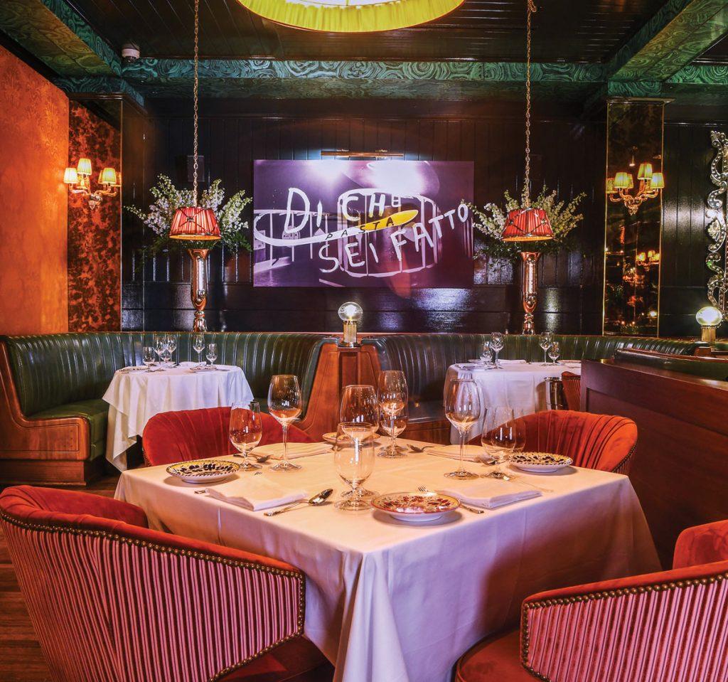 Carbone Dining Room, Photo by Photo by Seth Browarnik:World Red Eye
