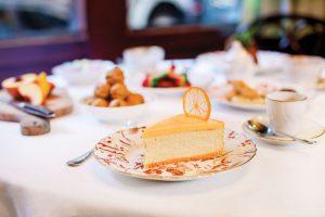 Carbone Lemon Cheesecake Dessert, Image courtesy of Carbone