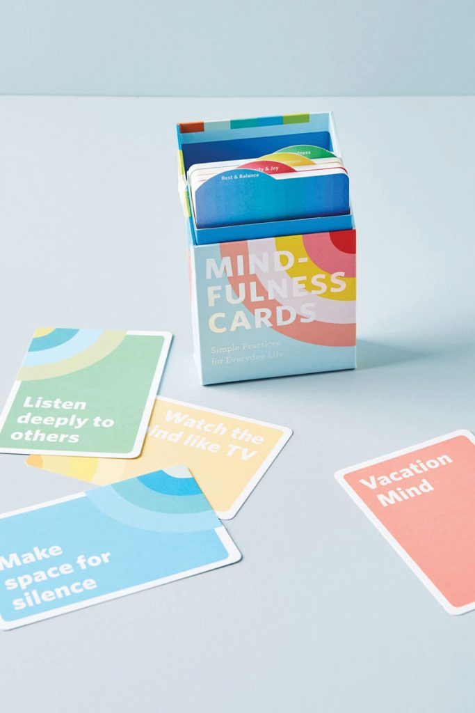 Uncommon Goods Mindfulness cards deck