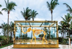 Damien Hirst's Gone but Not Forgotten, Faena Hotel Miami Beach
