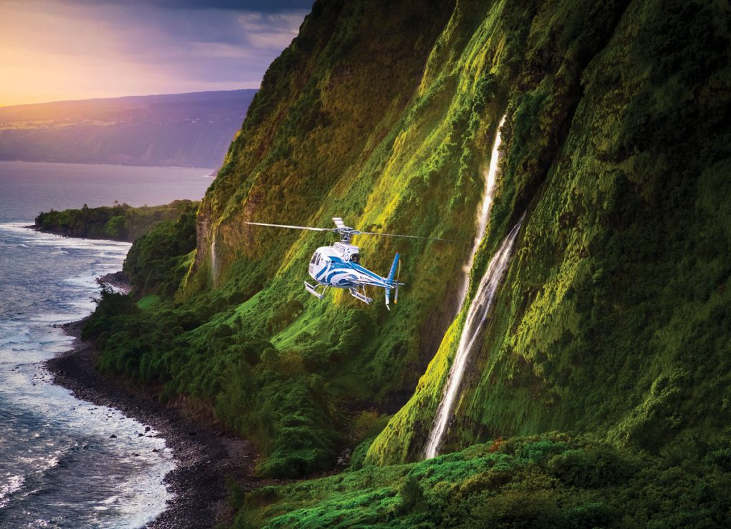 Blue Hawaiian Helicopter, photo by Andrew Richard Hara