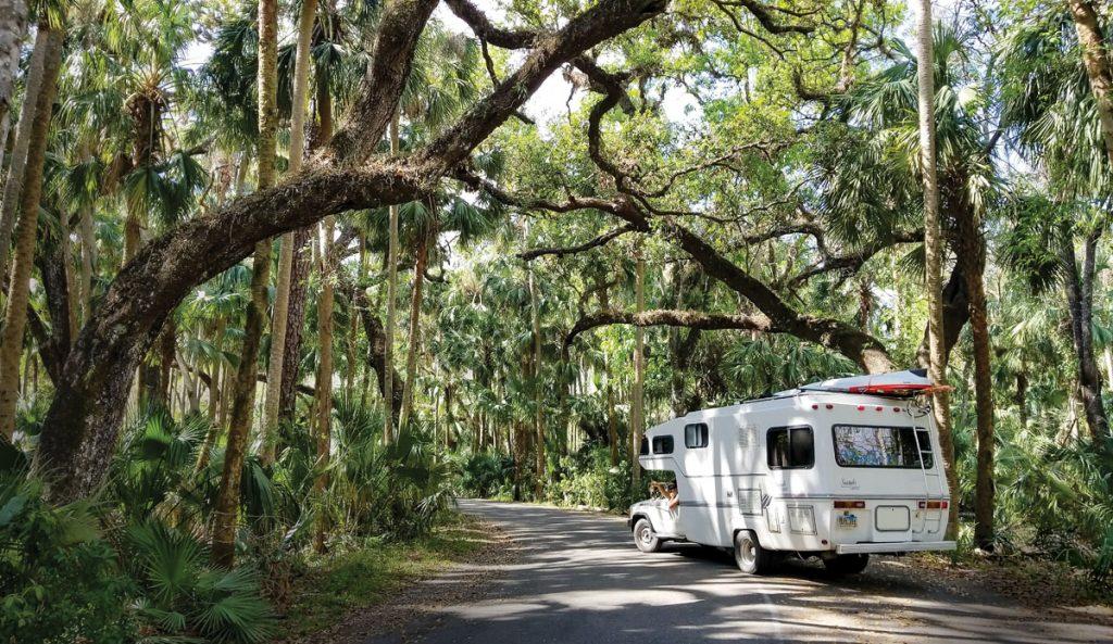 Florida RV Camping, Photo by HoneyTrek.com _ Visit Florida