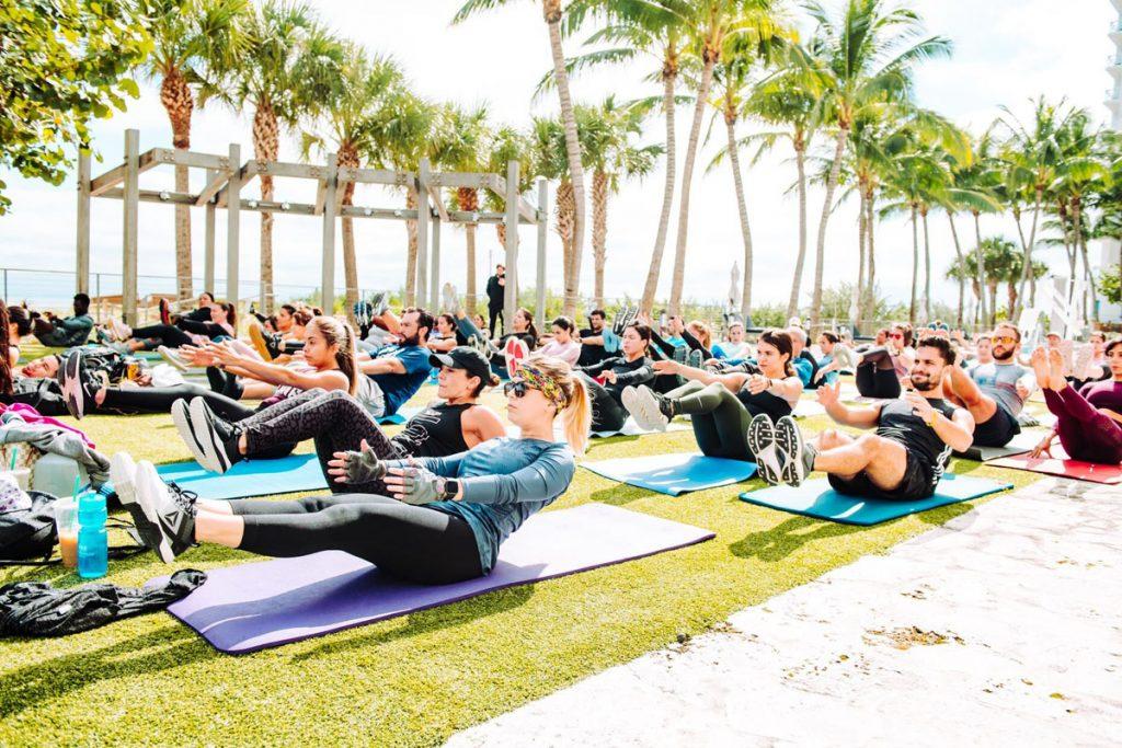 Global Wellness Day at Carillon Miami Wellness Resort, image c:o Carillon Miami