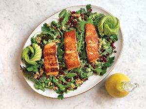 Ivey Leidy's Anti-Inflammatory Salad, Photo: Kent Anderson