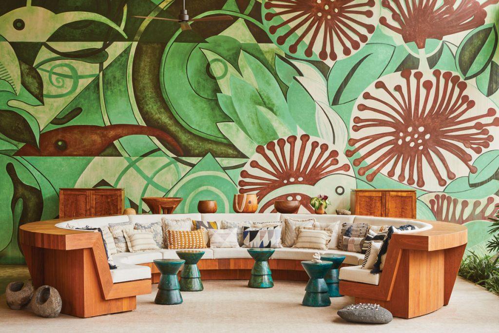 Mauna Lani, Auberge Resorts Collection, seating area, photo by Nicole Franzen