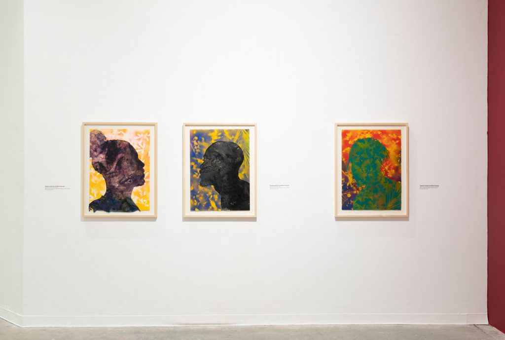 """Installation of """"After the Rain Comes Light: Portraits of Resilience"""" Courtesy of Museum of Contemporary Art, North Miami. Photo by Oriol Tarridas Photography"""