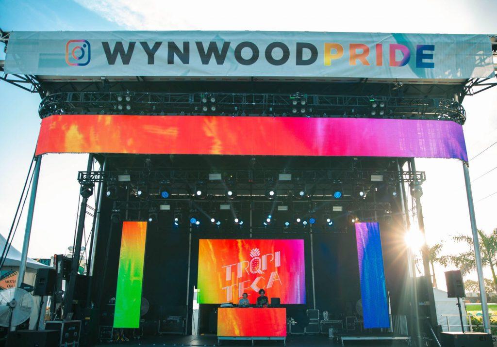 Wynwood Pride 2019 main stage