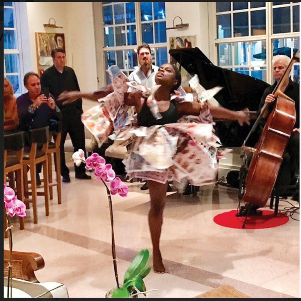 Lobby bar live jazz, photo courtesy of The Betsy