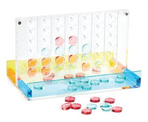 Lucite game sets ($80-$140), Sunny Life