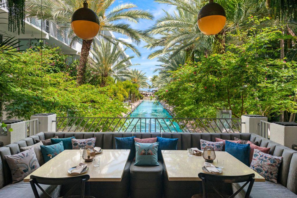 National Hotel Miami Beach 1939 Terrace