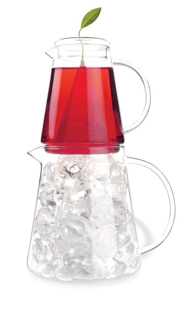 Tea Over Ice Pitcher Set ($55), Tea Forte, teaforte.com
