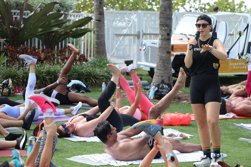 Dani Dellarco will lead Sweat for Pride at the Eden Roc on Sept. 12