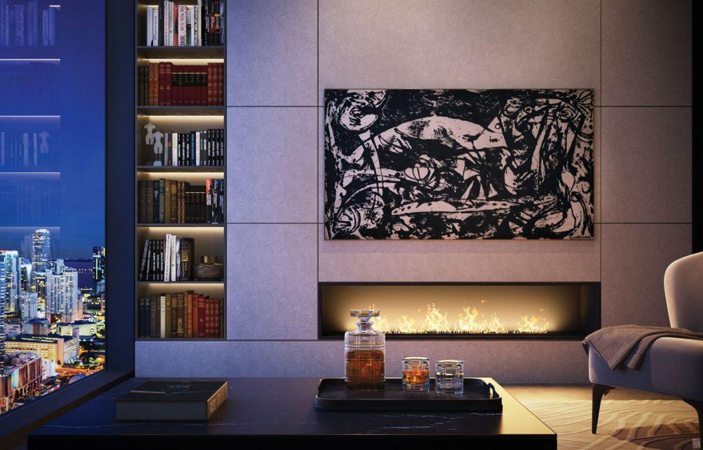 E11EVEN Hotel & Residences living room