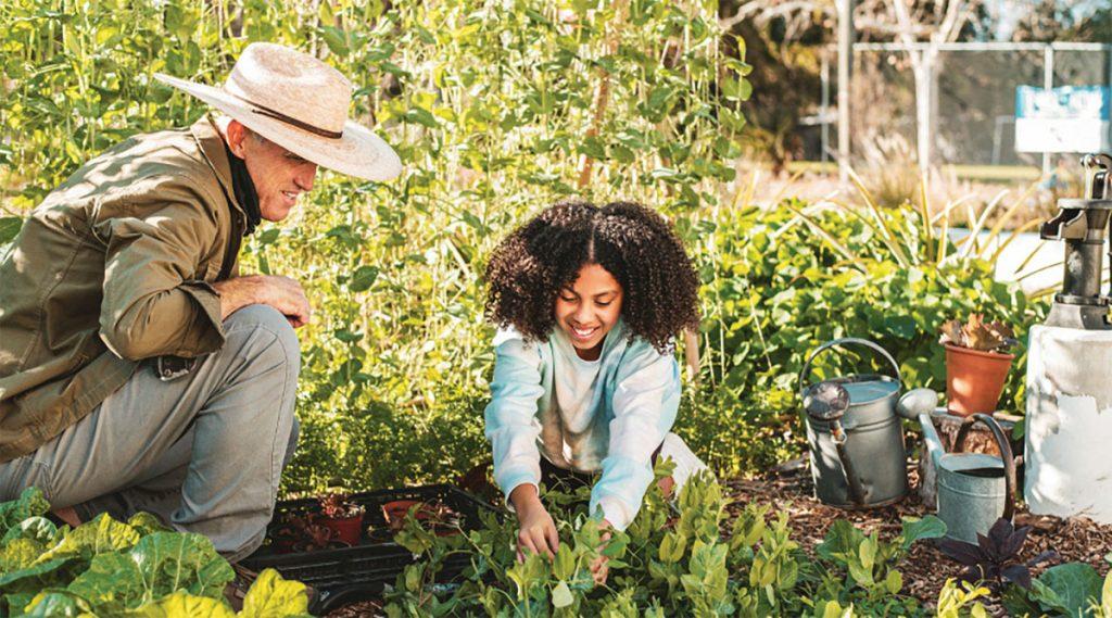 Edible Education Experience gardening