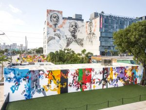 Futura at Wynwood Walls in Miami. Photo by Nika Kramer