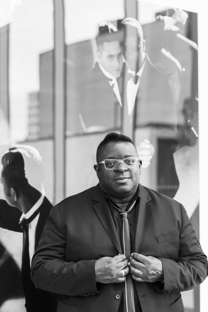 Isaac Julien, photo by Thierry Bal