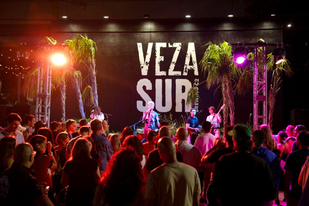 Live performance at Veza Sur Brewing Co. in Wynwood