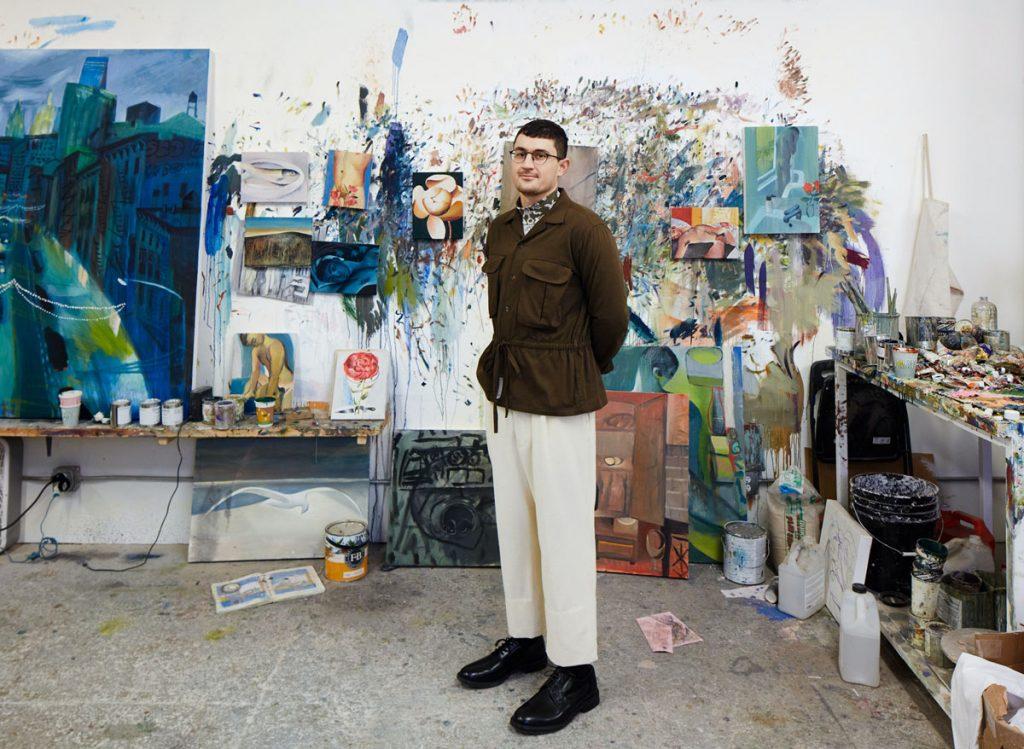 Louis Fratino Portrait
