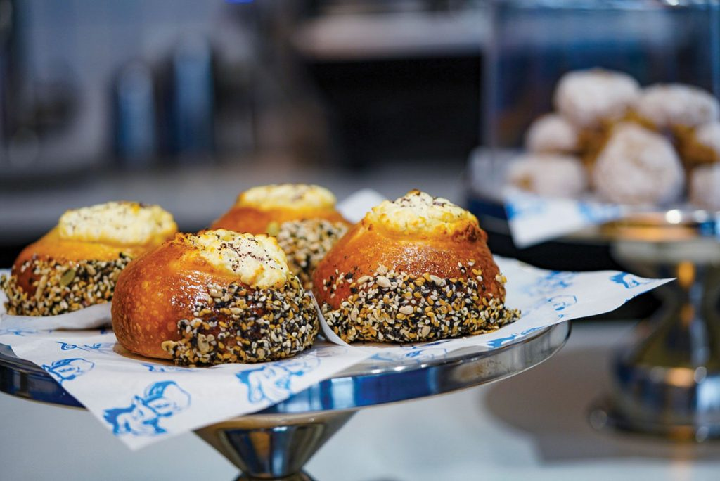 The Bialy is the star of the show at Deli Desires. Photo by Terrence Gross