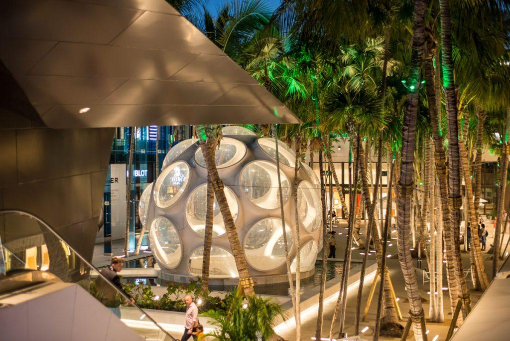 Miami Design District, Palm Court, Photo by Ra Haus