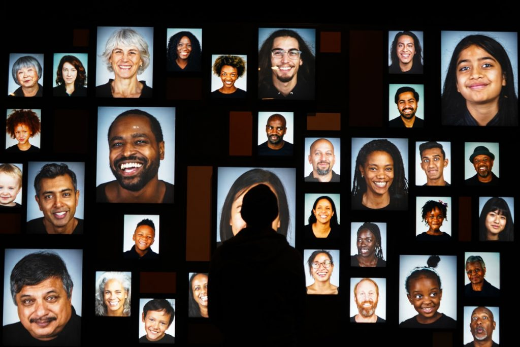 Display in Skin Living Armor, Evolving Identity