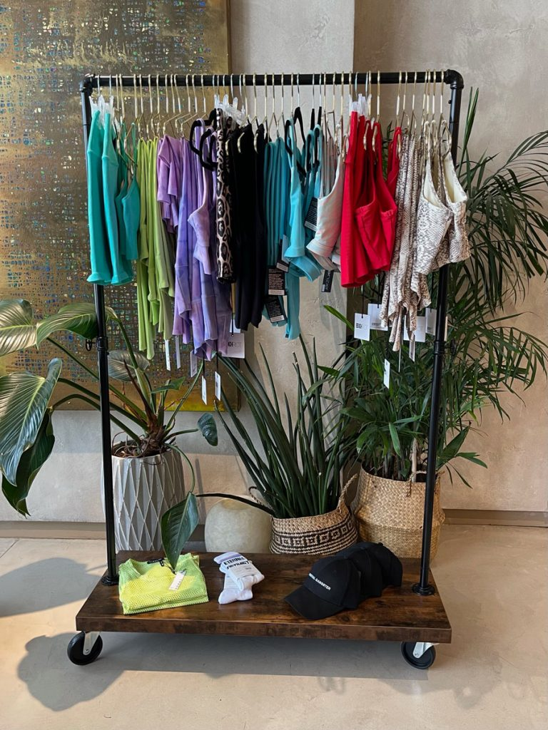 Pop-up shop with 35 Strong at MILA Restaurant in Miami Beach