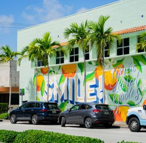 """""""Smile, You're in Coral Gables"""" Photo courtesy of the City of Coral Gables"""