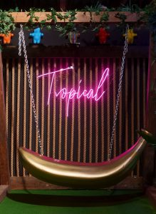 Sweet Miami Tropical room, photo courtesy of Candy Kingdom