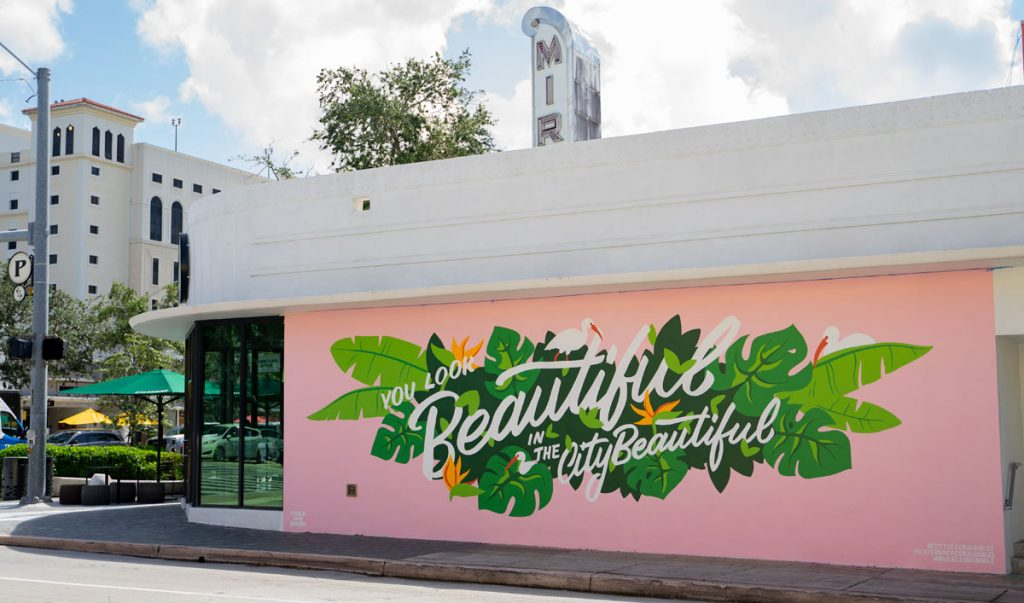 """""""You Look Beautiful in the City Beautiful"""" Photo courtesy of the City of Coral Gables"""